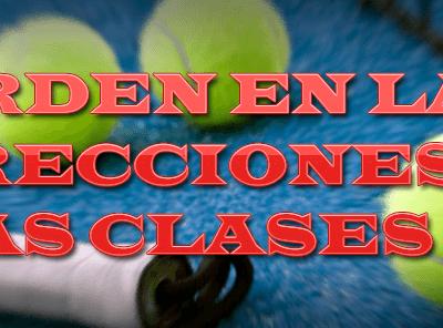 club padel mediterraneo 171018 el orden en las correcciones en las clases