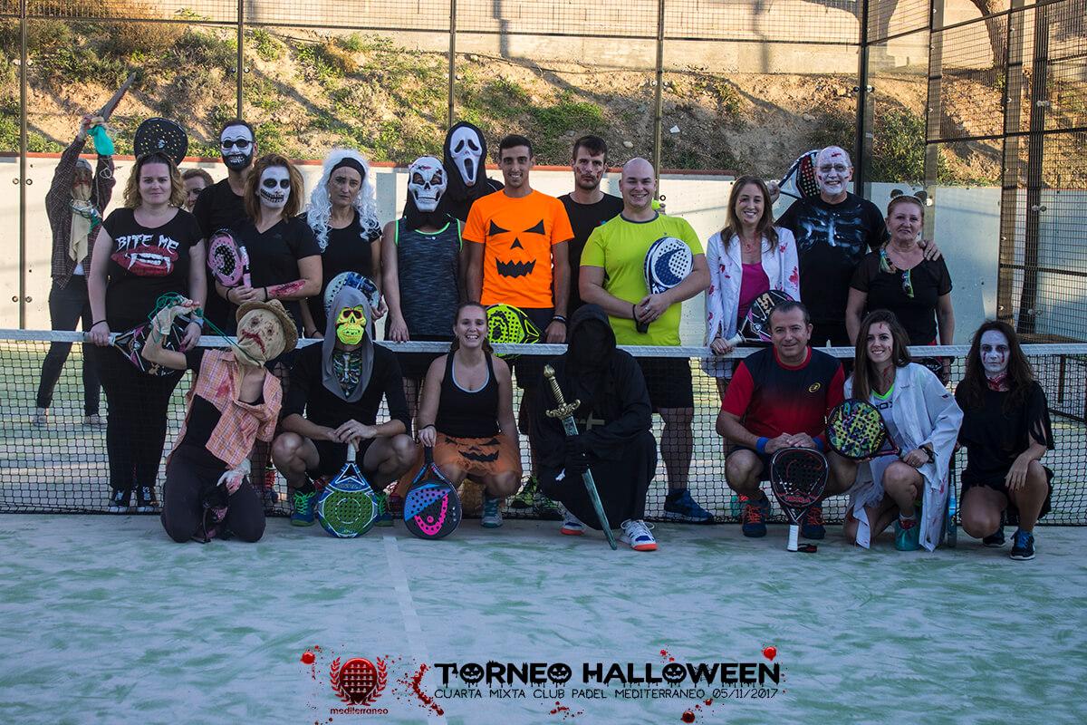 Torneo Halloween Cuarta Mixta Club Padel Mediterraneo 1