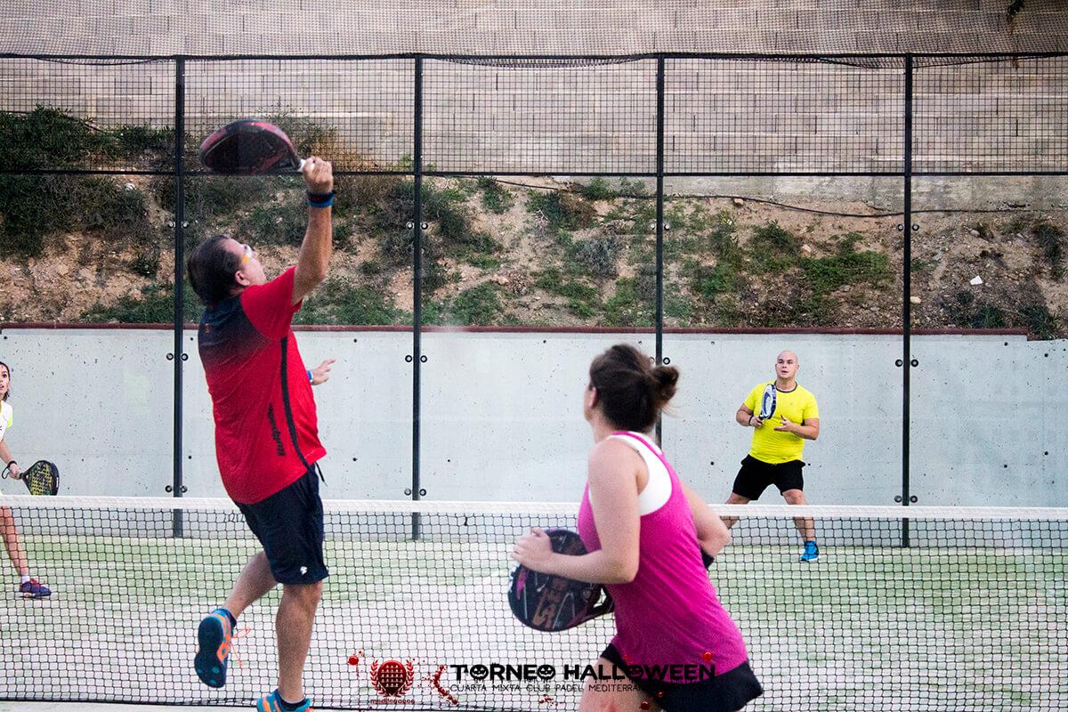 Torneo Halloween Cuarta Mixta Club Padel Mediterraneo 14