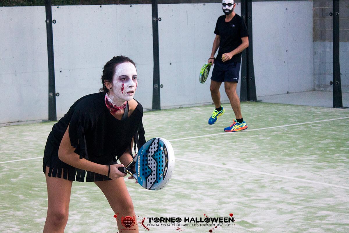 Torneo Halloween Cuarta Mixta Club Padel Mediterraneo 15