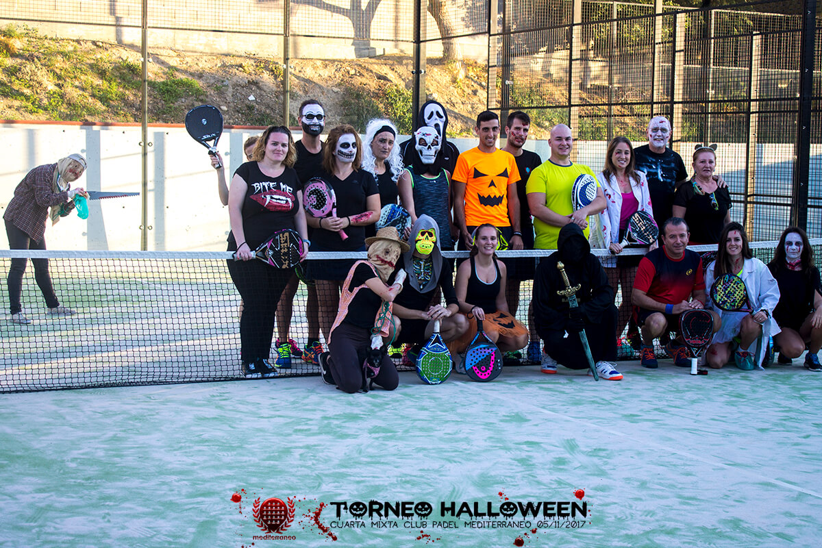 Torneo Halloween Cuarta Mixta Club Padel Mediterraneo 2