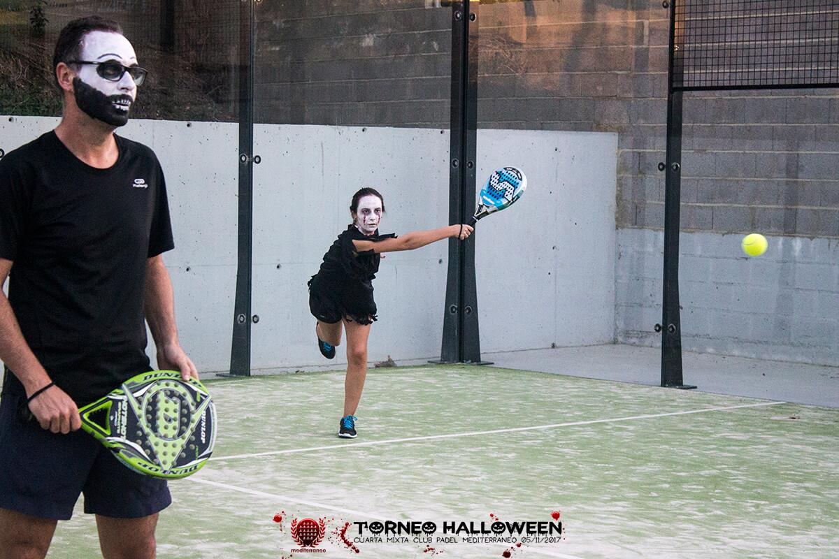 Torneo Halloween Cuarta Mixta Club Padel Mediterraneo 21