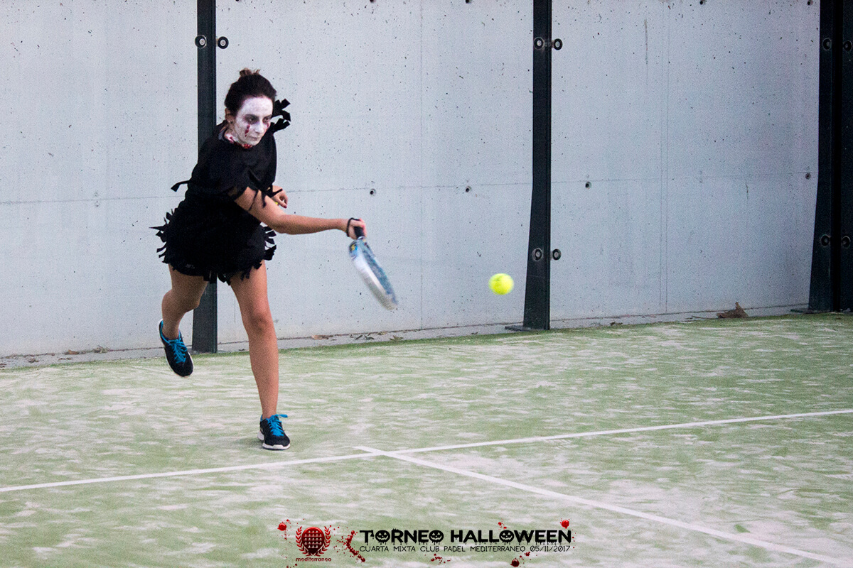 Torneo Halloween Cuarta Mixta Club Padel Mediterraneo 22