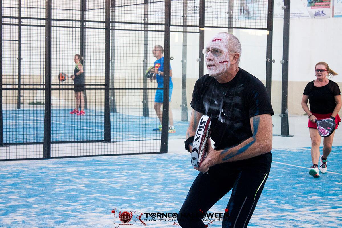Torneo Halloween Cuarta Mixta Club Padel Mediterraneo 28