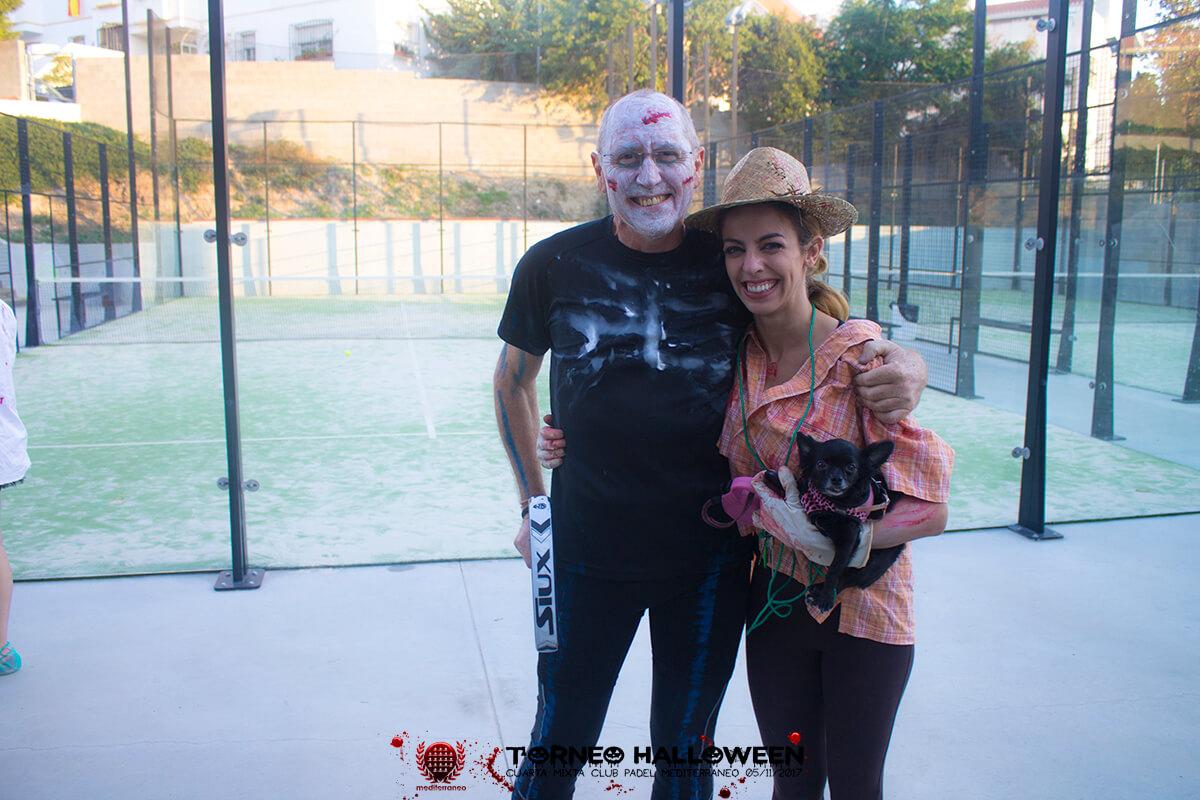 Torneo Halloween Cuarta Mixta Club Padel Mediterraneo 3