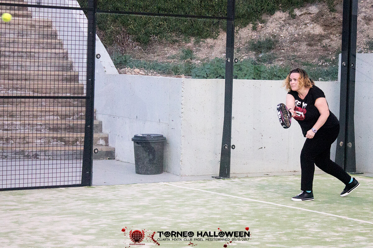 Torneo Halloween Cuarta Mixta Club Padel Mediterraneo 43