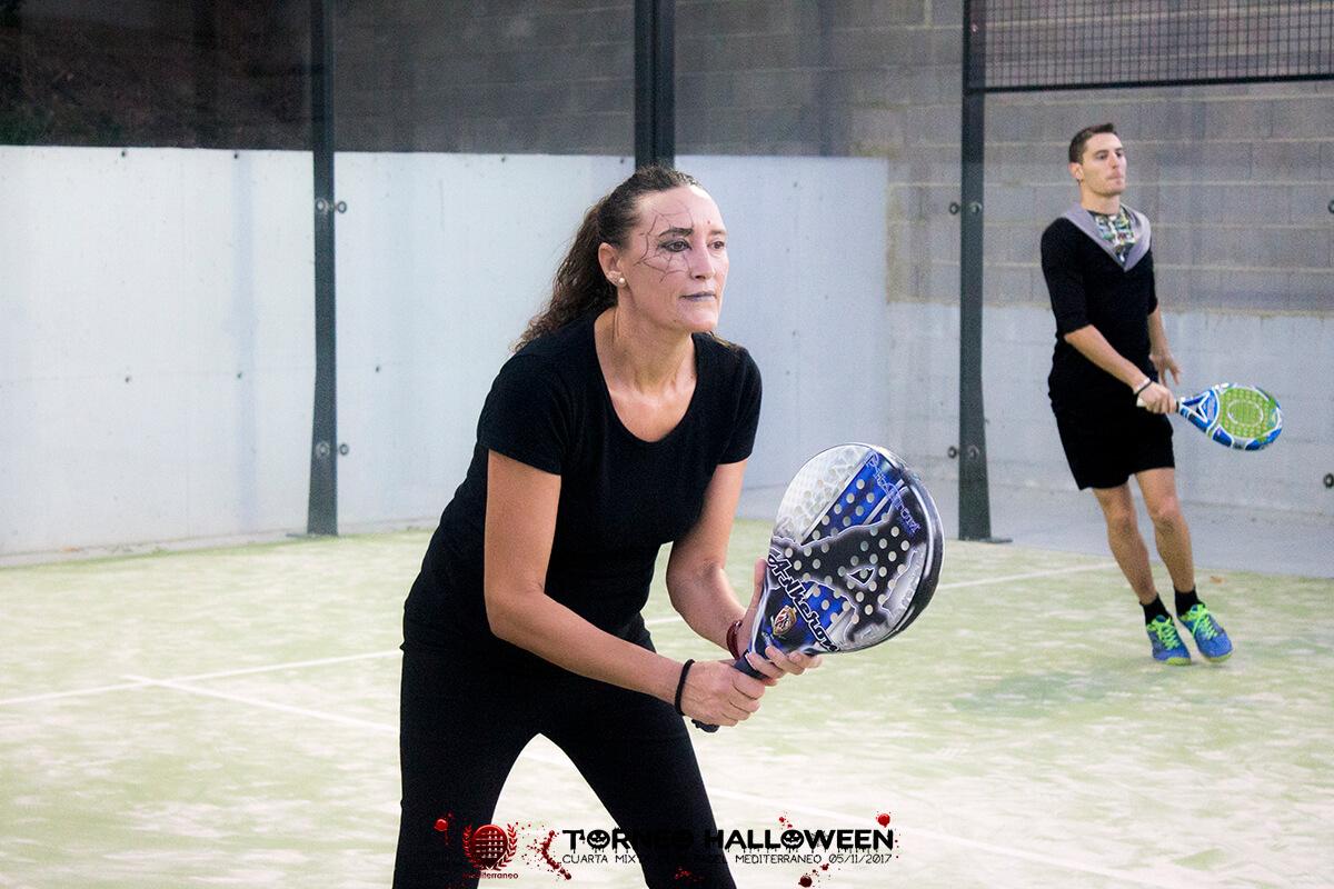 Torneo Halloween Cuarta Mixta Club Padel Mediterraneo 45