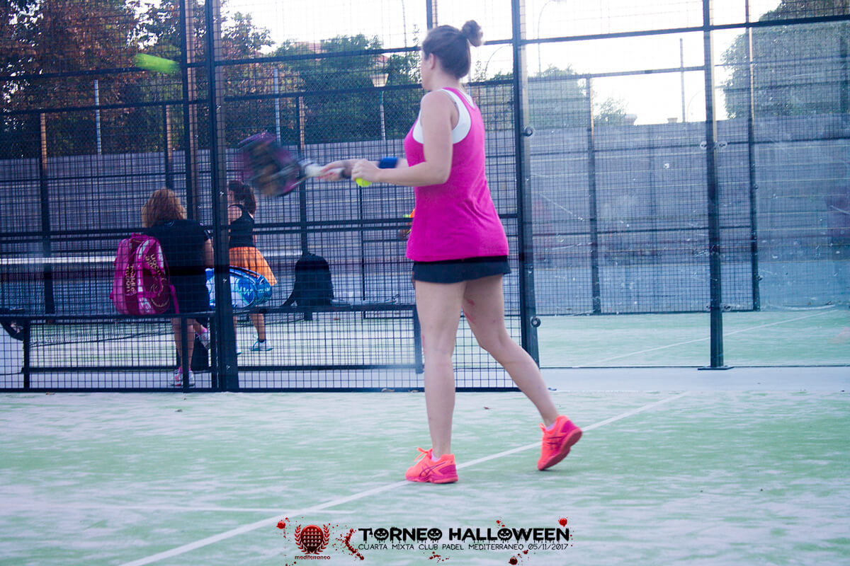 Torneo Halloween Cuarta Mixta Club Padel Mediterraneo 6