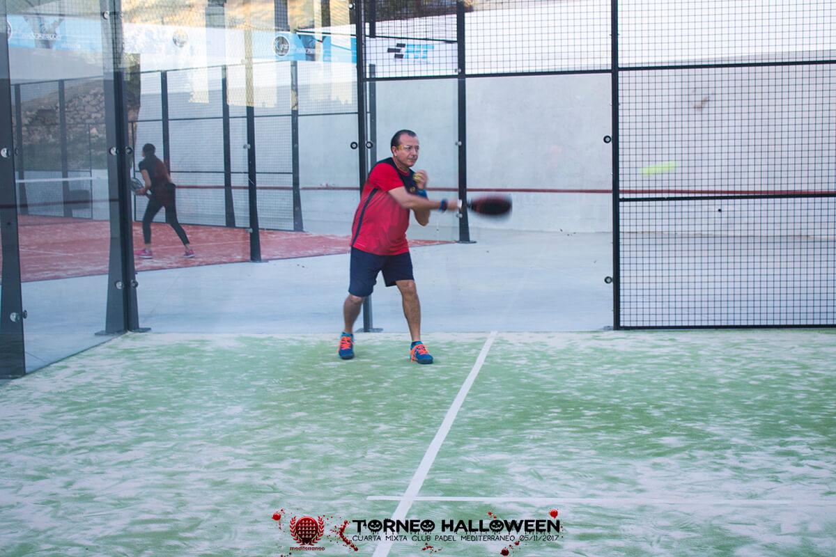 Torneo Halloween Cuarta Mixta Club Padel Mediterraneo 8